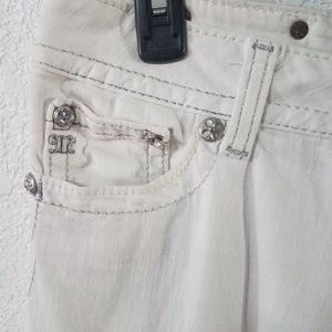 Miss Me Jeans - Miss Me Embellished white denim jeans
